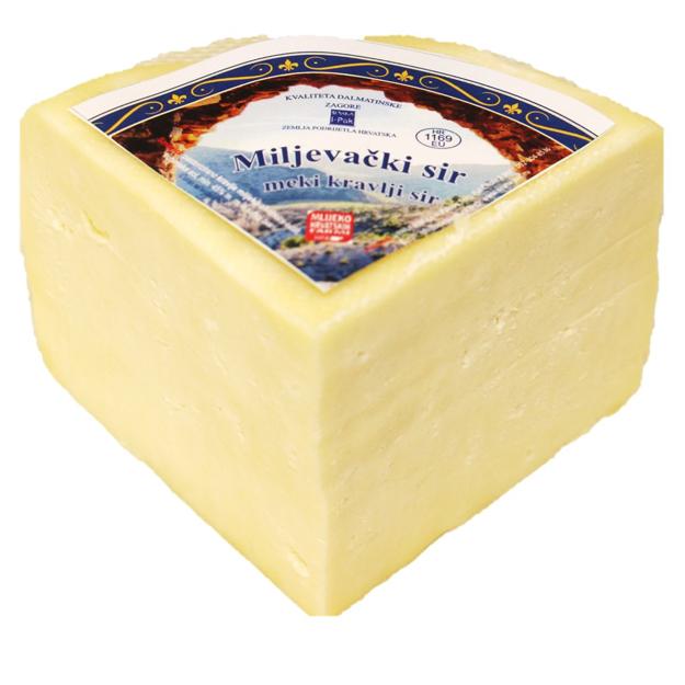 Miljevački sir četvrtina